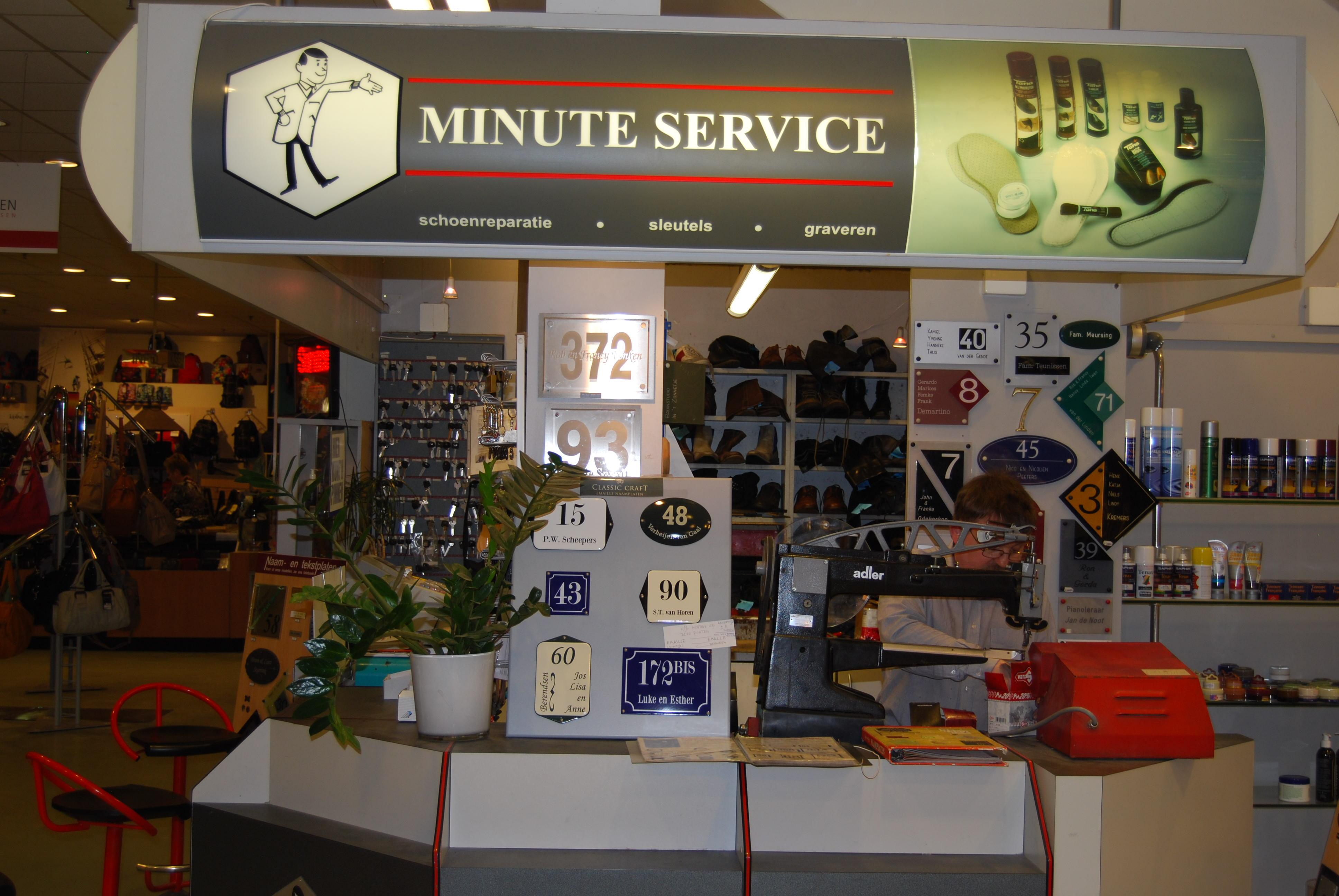 Minute Service Schoenreparatie & Sleutelservice